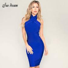 blue bodycon dress 2016 new summer bodycon dress black blue high neck mesh