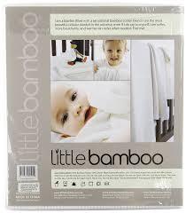 amazon com little bamboo baby airflow cellular blanket crib cot