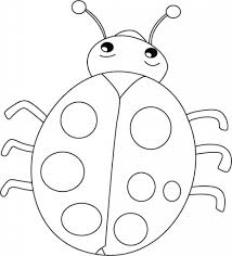 lady bug coloring pages with regard to encourage in coloring page