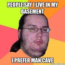 Man Cave Meme - cave