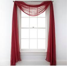 Sheer Scarf Valance Window Treatments 2 Liz Claiborne Lisette Scarf Valance Window Treatment 60x216 Navy
