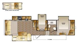 Fifth Wheel Floor Plans Front Living Room Perfect Stylish Front Kitchen 5th Wheel 5th Wheel With A Front