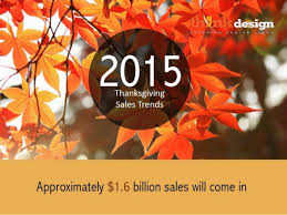 2015 thanksgiving sales trends