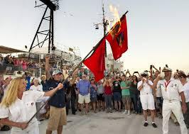 Flags Of Florida Keys Residents Burn Hurricane Flags To Mark End Of Season