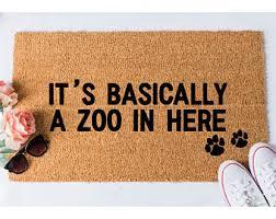 Soggy Doggy Doormat Canada Dog Doormat Etsy
