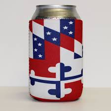 Miniature Flags America In Miniature Maryland Flag Koozie U2013 Route One Apparel