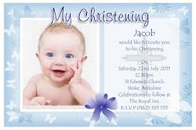 Sample Of Wedding Invitation Cards Wording Extraordinary Christening Invitation Card For Baby Boy 58 For