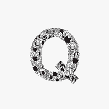 creative black and white animal alphabet u2013 fubiz media