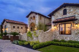 a stunning rustic mediterranean style villa in rural texas
