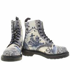 boots buy collect in store womens dr martens white navy pascal 8 eye boot willow boots