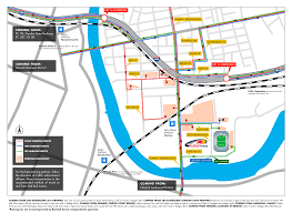 Metlife Stadium Floor Plan by Transportation Hub New York Red Bulls