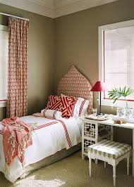 Bedroom Taupe Red And Taupe Bedroom Transitional Bedroom