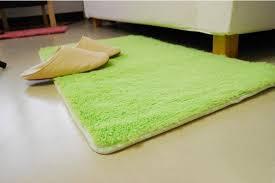 Plush Floor Rugs Fluffy Water Absorbing Dust Doormat Bedroom Mat Plush Slip Mats