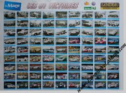 2014 le maine libre all 81 le mans 24 hours winners 1923 2013 poster