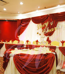 red and gold wedding reception decorations house design ideas