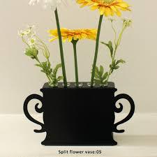 Modern Flower Vase Arrangements Black Flower Vases Containers Vases Plastic Containers Stock Vases