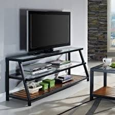 glass and metal tv stands foter