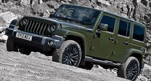 wrangler jeep green kahn reimagines jeep wrangler unlimited in a military green