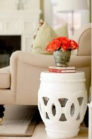 Drum Accent Table Drum Accent Table Foter