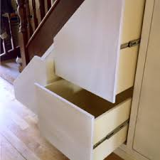 clever storage solutions under stairs u0026 attic cleverclosets ie