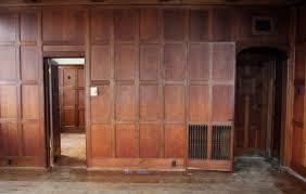 arts u0026 crafts recessed multi oak paneled room olde good things