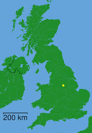 Where Is England On The Map by Chesterfield Derbyshire Dot U2022 Mapsof Net