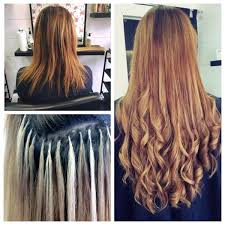 keratin bond hair extensions qualified hair extension specialist keratin bonds micro rings nano
