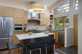 Kitchen Island Countertop Overhang Island Overhang Kitchen Contemporary With Contemporary Lighting