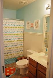 kids bathroom decor with fun and colorful accessories photo