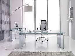 modern glass desk  Google Search  Decadence Designs  Pinterest