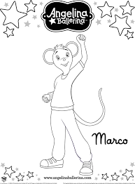 angelina ballerina coloring pages redcabworcester redcabworcester