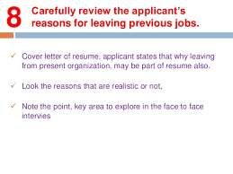 Resume Applicant Interviewing 10 Key Areas To Focus When Reviewing An Application U2026