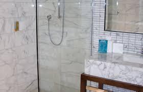 shower beautiful doorless shower designs for small bathrooms