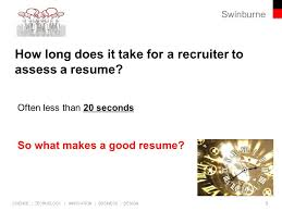 Highlights On A Resume Professional Employment Program Ppt Download