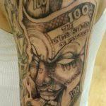gangster tattoo design ideas