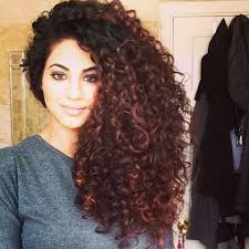 getting hair curled and color 17 best hair images on pinterest curly hair curly bob hair and