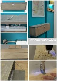 charging shelf station 40 best diy charging station ideas easy simple unique diy