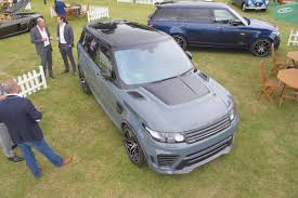 expensive range rover overfinch supersport takes range rover sport svr to new levels