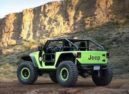 jeep hellcat custom jeep reveals hellcat powered wrangler and other crazy concepts