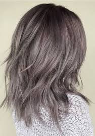 putting silver on brown hair the 40 latest medium length curly hairstyles ash ombre and brown