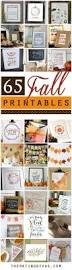 Easy Home Decorating 116 Best Fall Printables Images On Pinterest