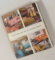 vintage 1956 1961 better homes gardens decorating book mid century
