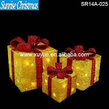 lighted christmas present boxes lighted christmas presents source quality lighted christmas
