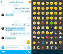 new android emojis microsoft updates skype and skype qik apps with new features
