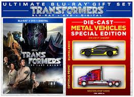 transformers the last knight walmart exclusive blu ray dvd