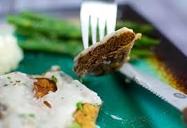 veganized country fried steak astro eater