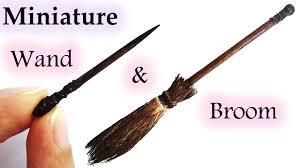 miniature halloween witch u0027s broom u0026 magic wand maive ferrando