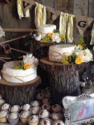 tree stump cake stand trunk cake stand