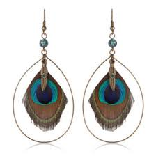 feather earrings s peacock feather earrings online peacock feather