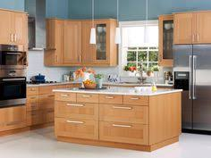 Maple Kitchen Cabinets by Kitchen Of The Day Shaker Beech Kitchen With Soft Green Walls